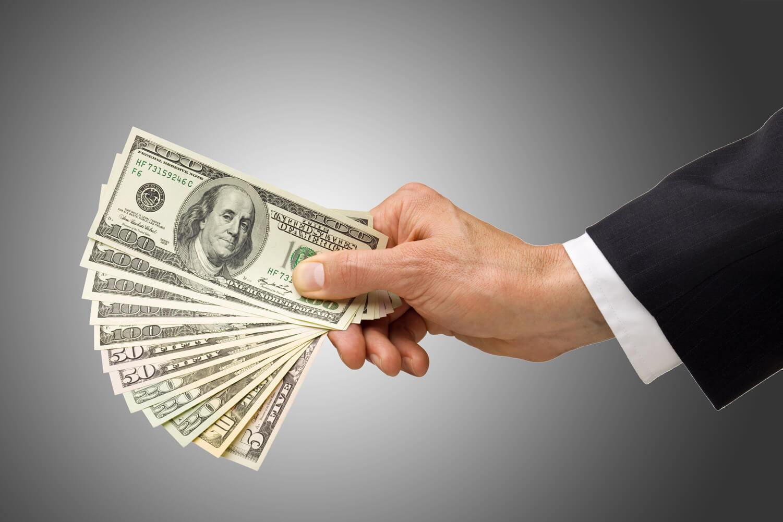 O que é o cash out?