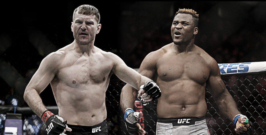 Stipe Miocic e Francis Ngannou - UFC FIGHT NIGHT 260 - odds de apostas