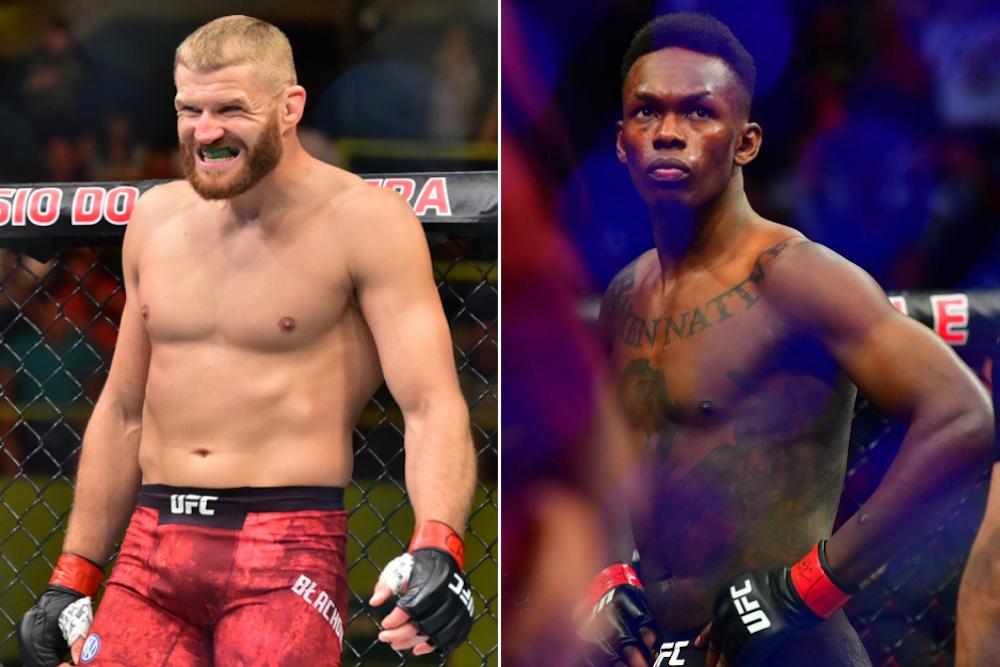 Jan Blachowicz vs Israel Adesanya - UFC Fight Night 259 - odds the apostas